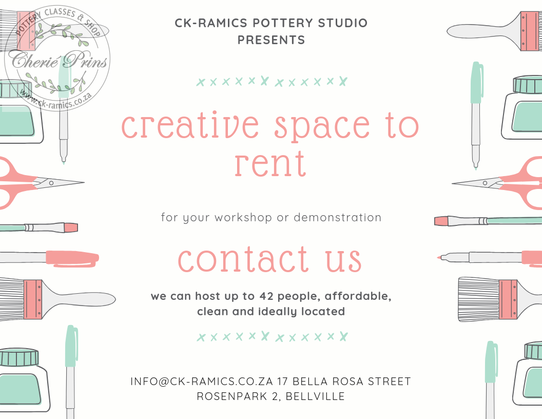 studio space available